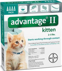 Advantage Ii For Kittens