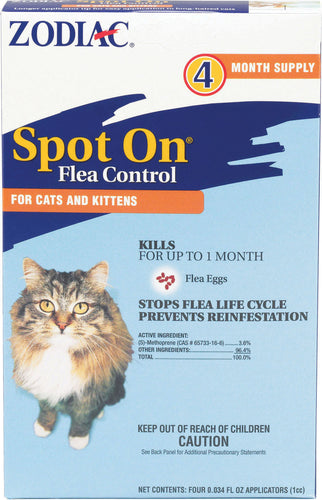 Zodiac Spot On For Cats & Kittens
