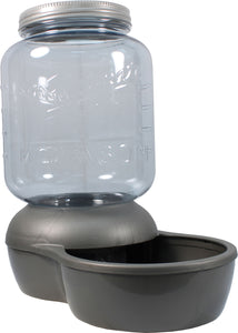 Mason Jar Replendish Filtered Waterer