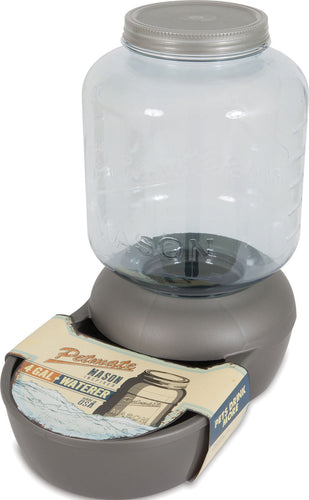 Mason Jar Replendish Waterer