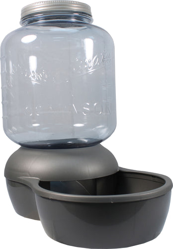 Mason Jar Replendish Dry Food Feeder