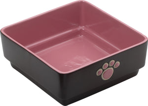 Four Square Dog Dish