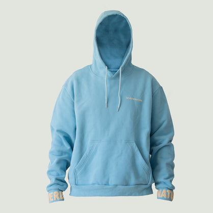 Raised A Rebel Essential Hoodie (Blue/3M Reflective)