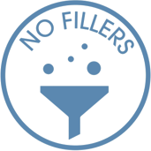 no-fillers