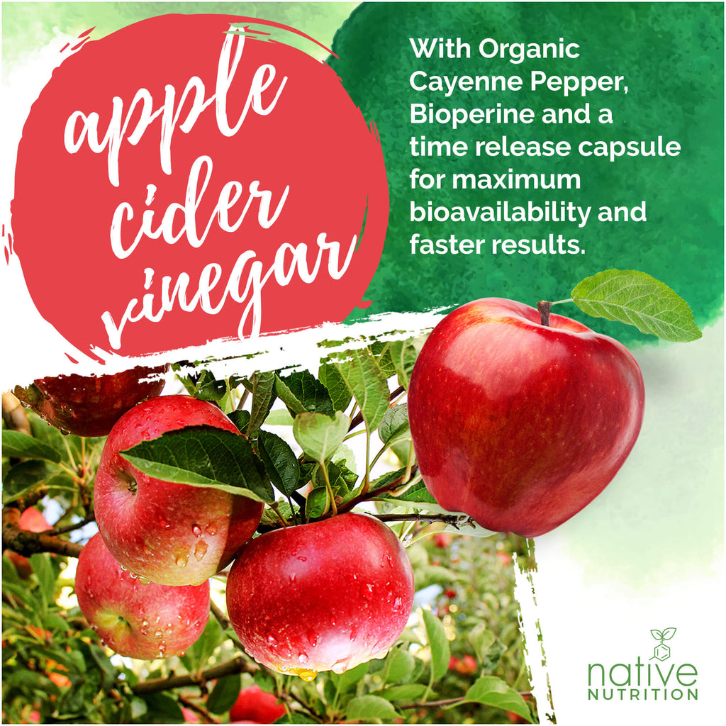 Organic Apple Cider Vinegar Pills for Weight Loss, Detox and More