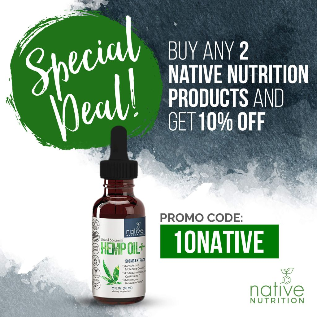 Broad Spectrum CBD Oil – 500mg THC-Free Hemp Oil Extract
