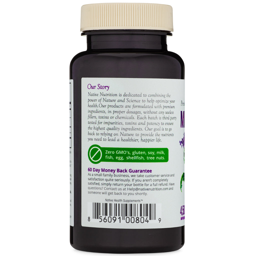 Organic Milk Thistle Supplement with BioPerine