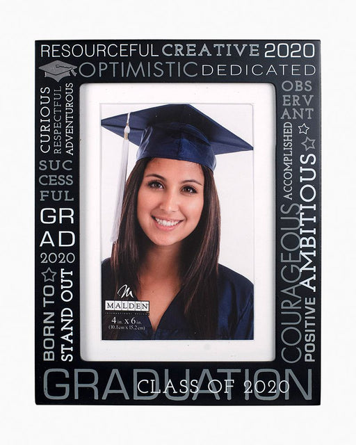 2020 Graduation Words Picture Frame