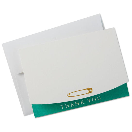 Clothespin Baby Thank You Notes