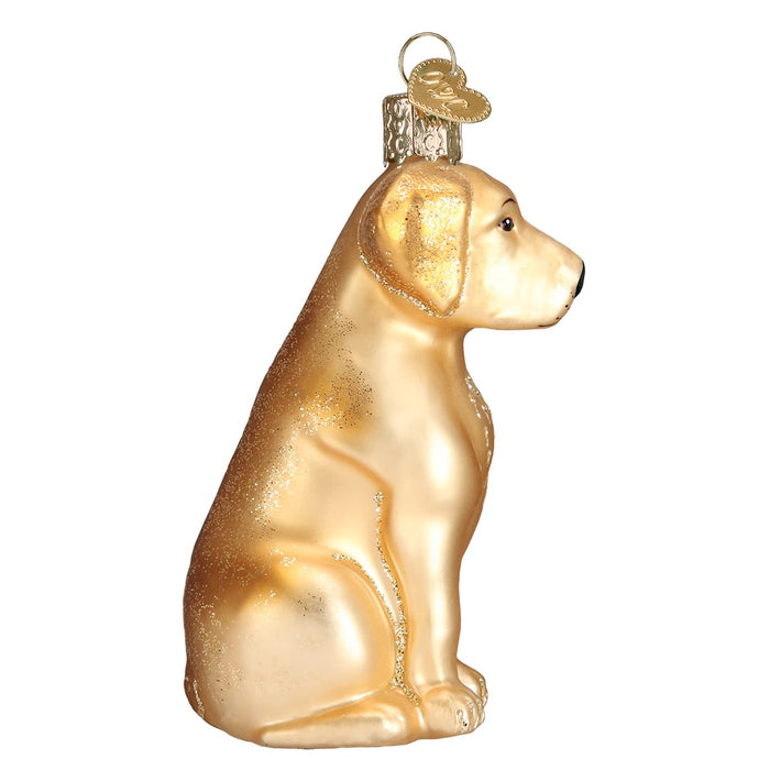 Yellow Labrador Ornament