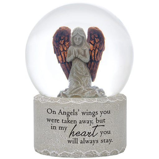 """Angel's Wings"" Water Globe"
