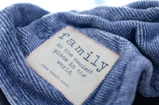 Together Time Family Mega Blanket – Blue