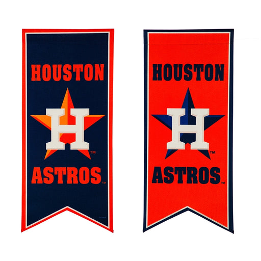 Houston Astros Banner and Garden Flag