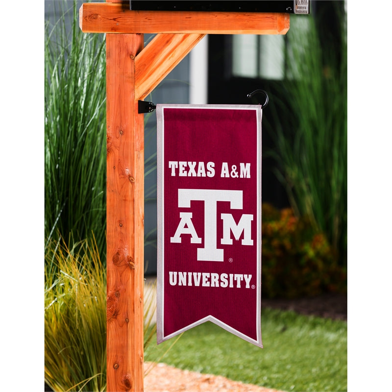 Texas A&M Banner and Garden Flag