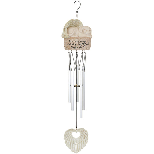 Dog Angel Garden Chime
