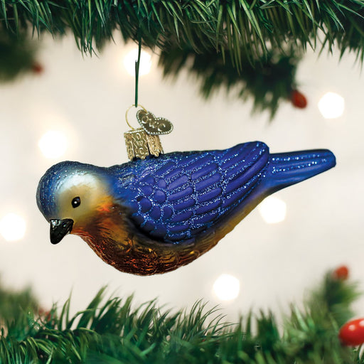 Western Bluebird Ornament