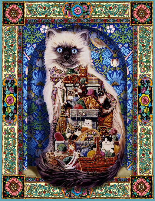 Cats Galore 500 Piece Jigsaw Puzzle