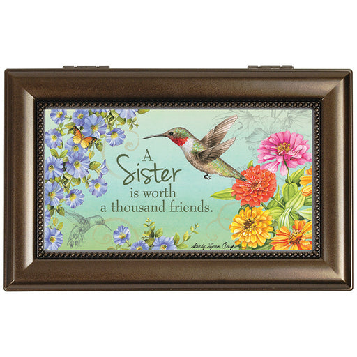 """Sister Friend"" Music Box"