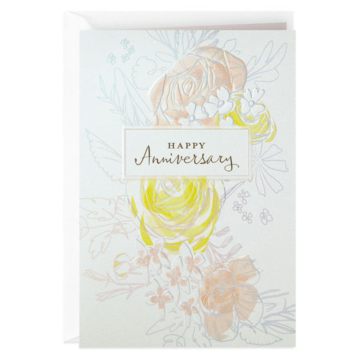 Loving Moments Anniversary Card