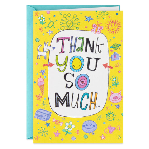 Gratitude for Everything Thank You Card