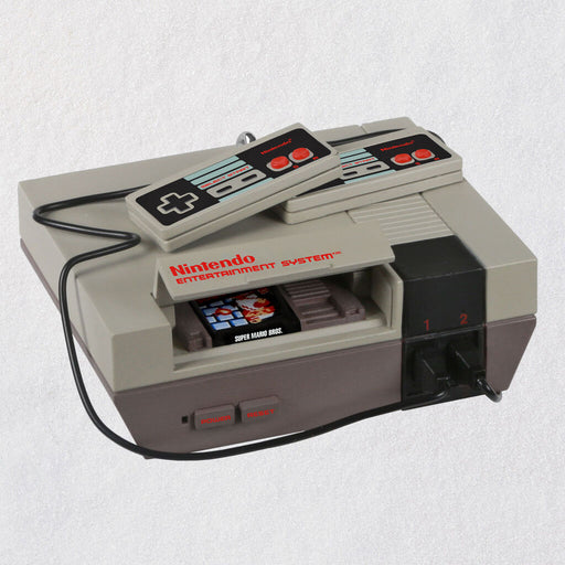 Nintendo Entertainment System NES Console Ornament With Sound and Light