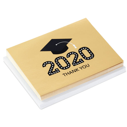 2020 Mortarboard Graduation Thank-You Notes