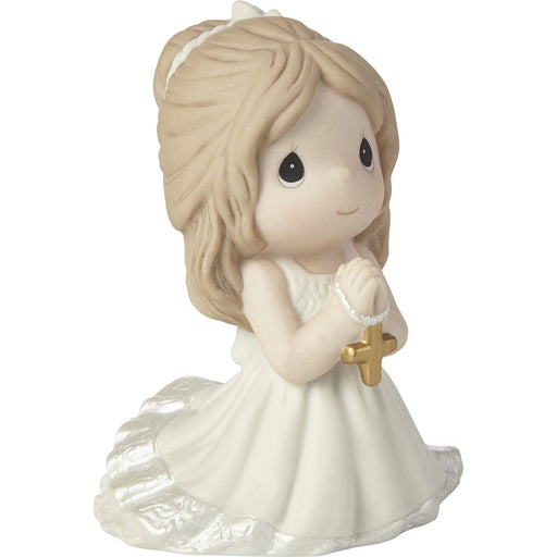 Remembrance Of My First Communion Girl Figurine