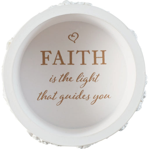 Faith Is The Light That Guides You Boy Rosary Box with Rosary