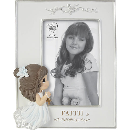 Faith Is The Light That Guides You Girl Photo Frame