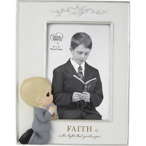 Faith Is The Light That Guides You Boy Photo Frame