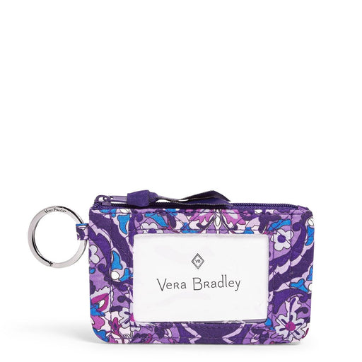 Vera Bradley Regal Rosette Zip ID Case