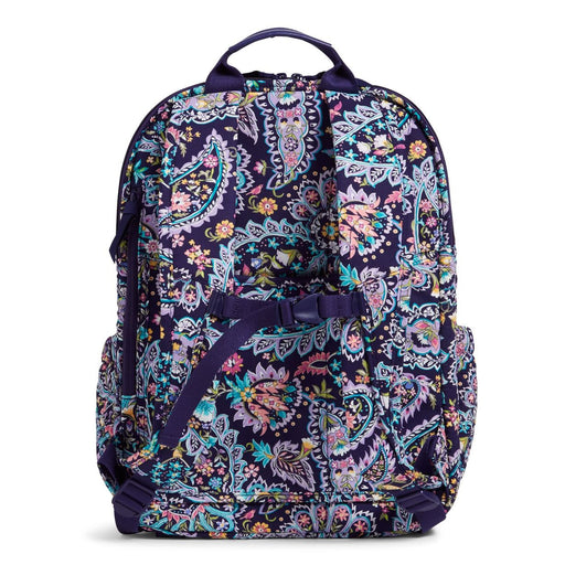 Vera Bradley French Paisley XL Campus Backpack
