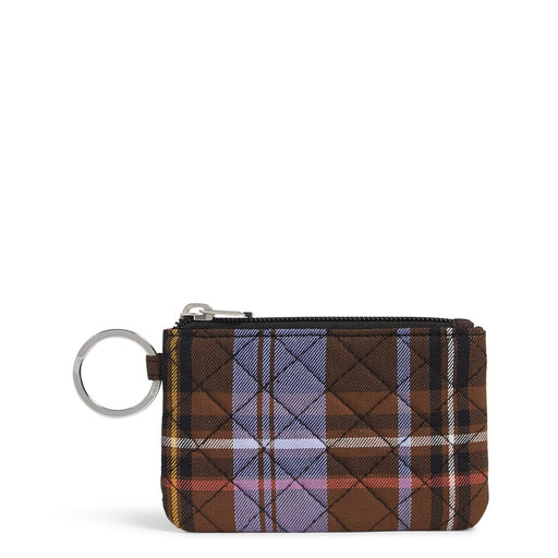 Vera Bradley Cozy Plaid Zip ID Case