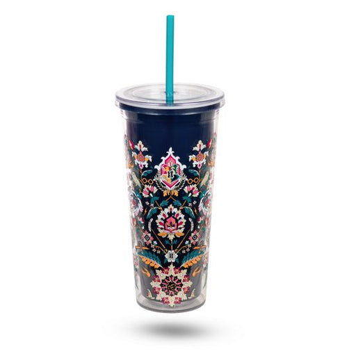 Home to Hogwarts Double Wall Tumbler with Straw