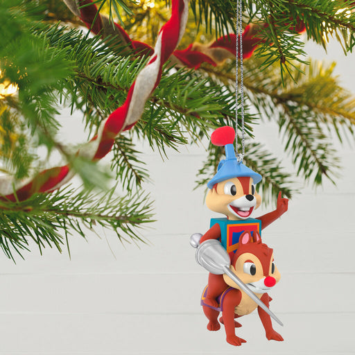 Disney Chip and Dale Dragon Around Ornament