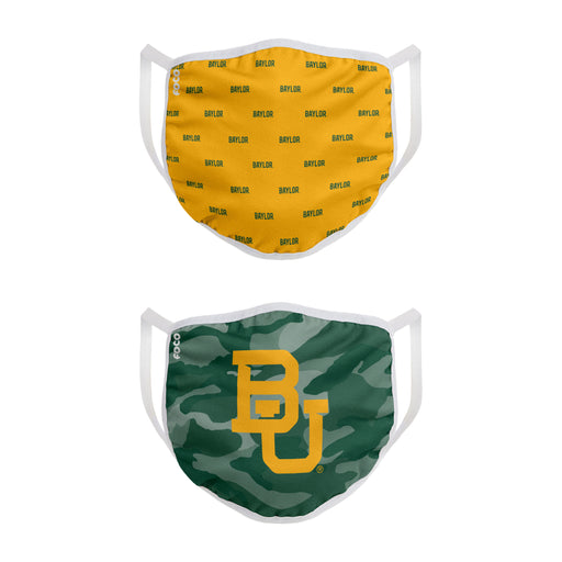 University of Baylor 2 Pack Face Mask