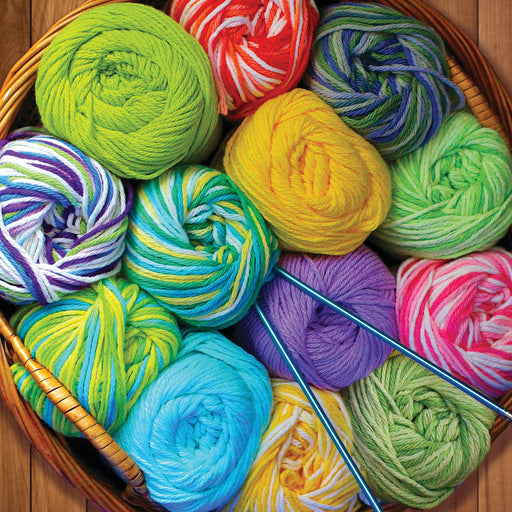 Colorful Yarn 500 Piece Jigsaw Puzzle