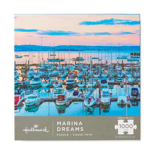 Marina Dreams Coastal Scene 1000 Piece Puzzle