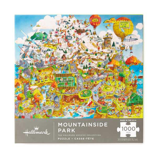 Mountainside Park City 1000 Piece Puzzle