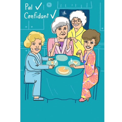 Golden Girls Pal, Confidant Thank You Greeting Card