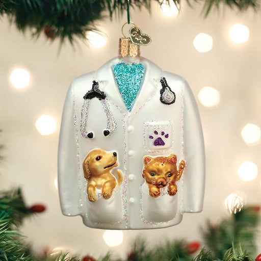 Veterinarian's Coat Ornament
