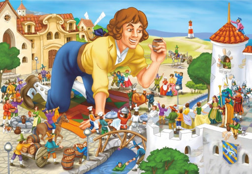Gulliver's Travels 100 Piece Jigsaw Puzzle