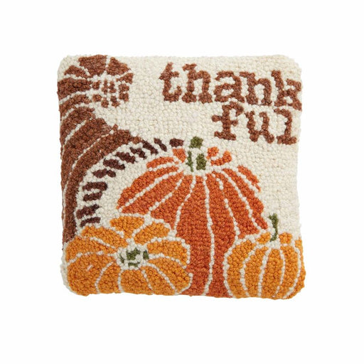 Thankful Mini Hooked Pillow