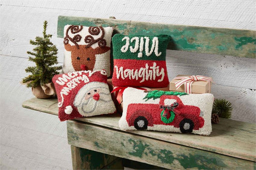 Mini Reindeer Pillow
