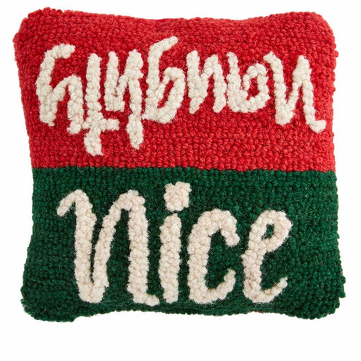 Mini Naughty Nice Pillow
