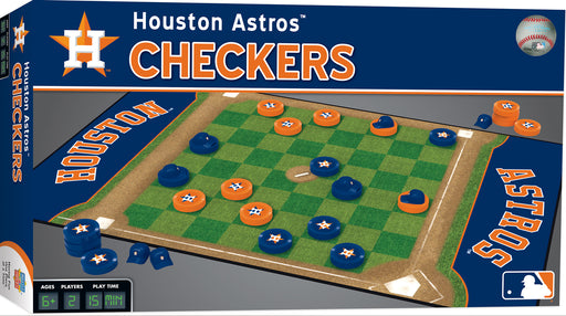 Houston Astros Checkers Game