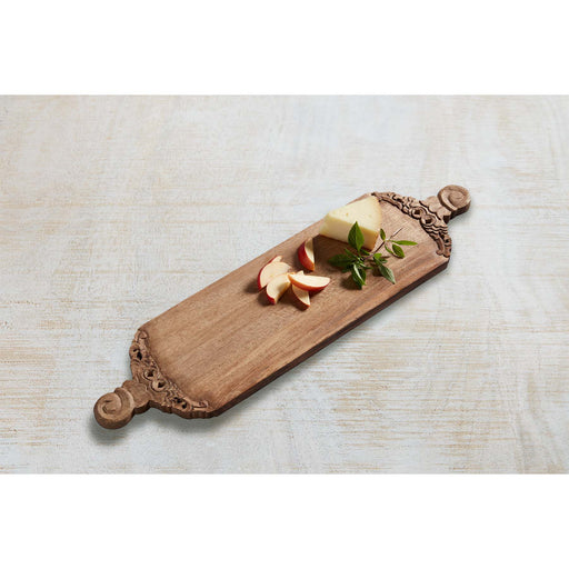 Hand Carved Long Serving Board