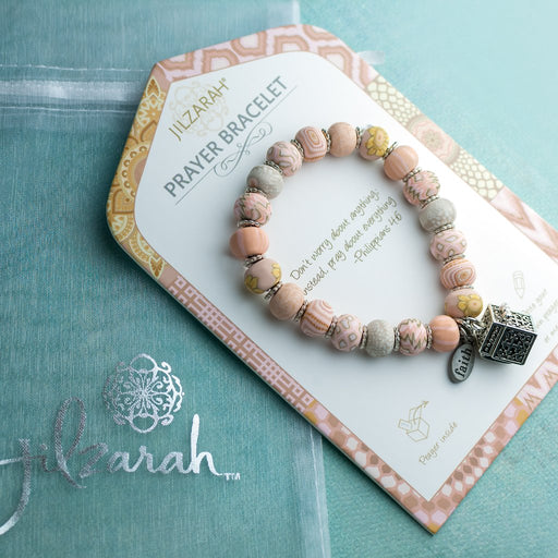 Jilzarah Bella Rosa Prayer Bracelet