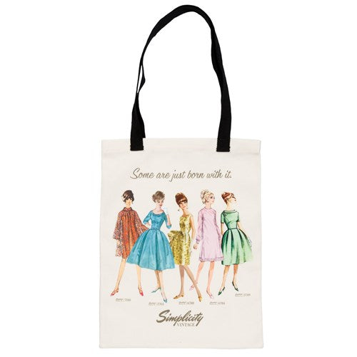 Simplicity Vintage Tote Born With It