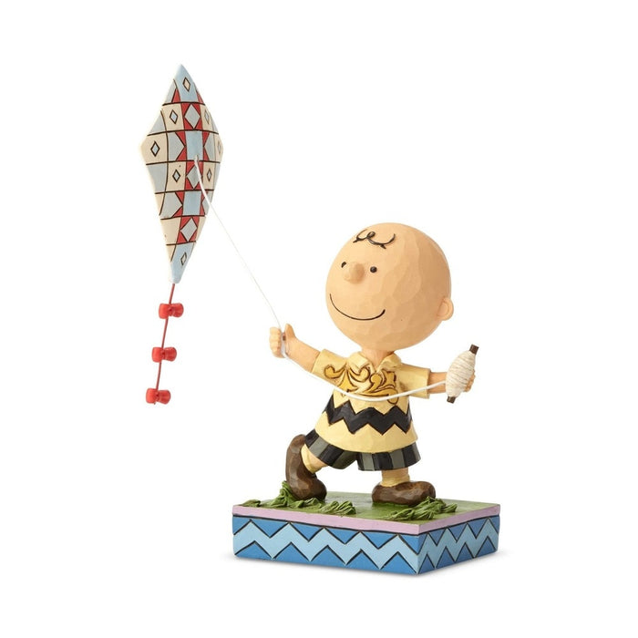 Charlie Brown Flying Kite by Jim Shore